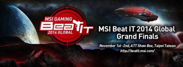 MSI BEAT IT 2014 GLOBAL GRAND FINALS PR (1)