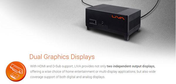 ECS LIVA Features (2)