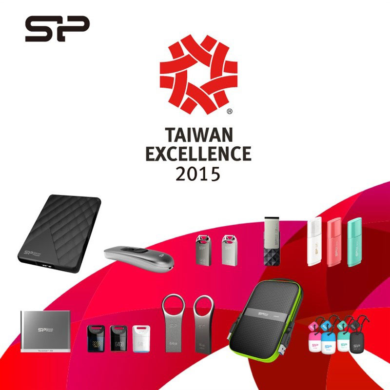SP Silicon Power Taiwan Excellence 2015 PR (1)