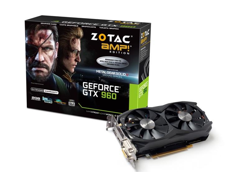 ZOTAC GTX 960 AMP! Edition