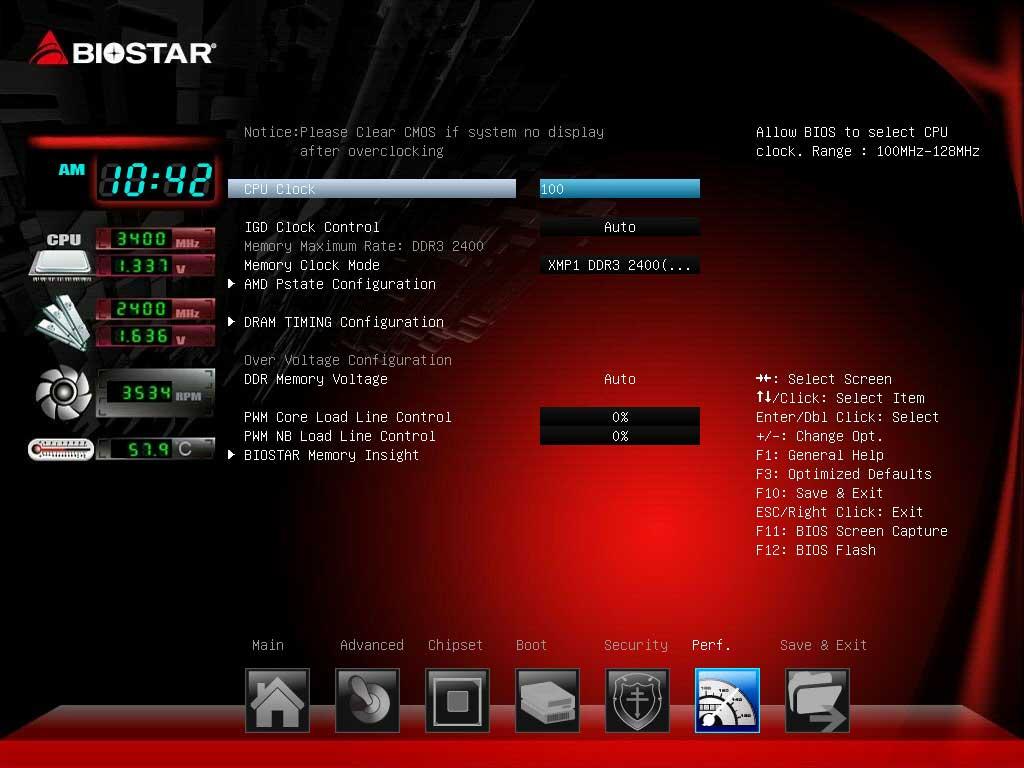 BIOSTAR A70U3P UEFI BIOS (5)