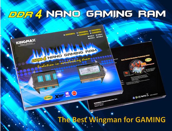 Kingmax Nano RAM DDR4 Wingman PR