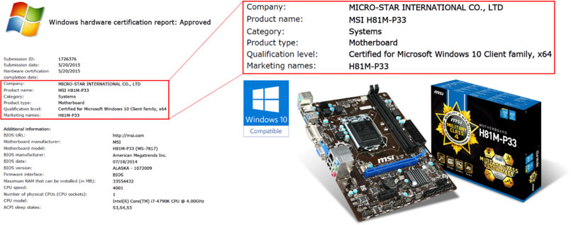 MSI Windows 10 Certification PR (2)