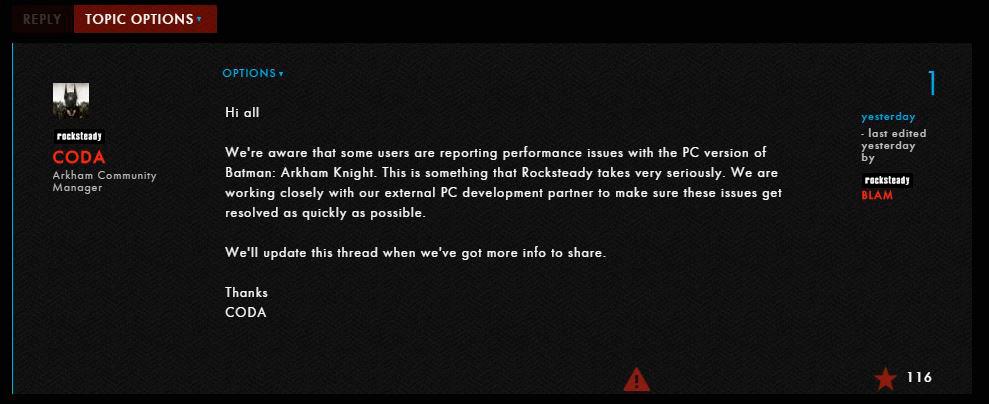 Batman Arkham Knight PC Port (2)
