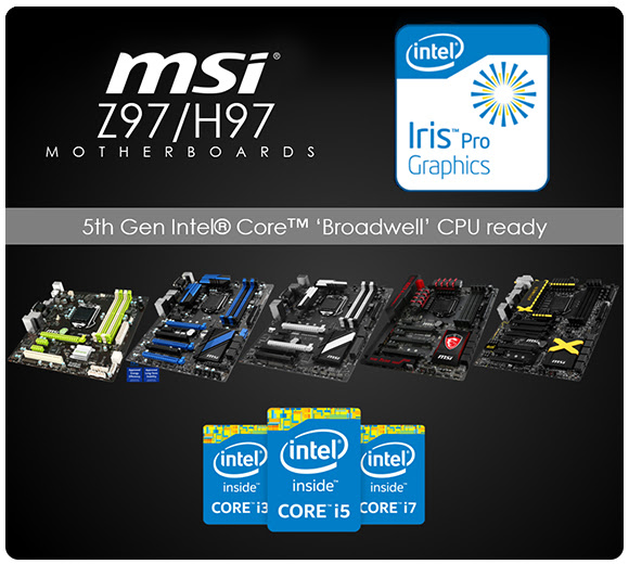 MSI Motherboard Broadwell PR