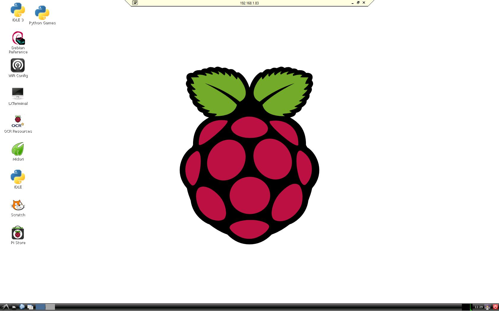 Raspberry Pi RaspBian