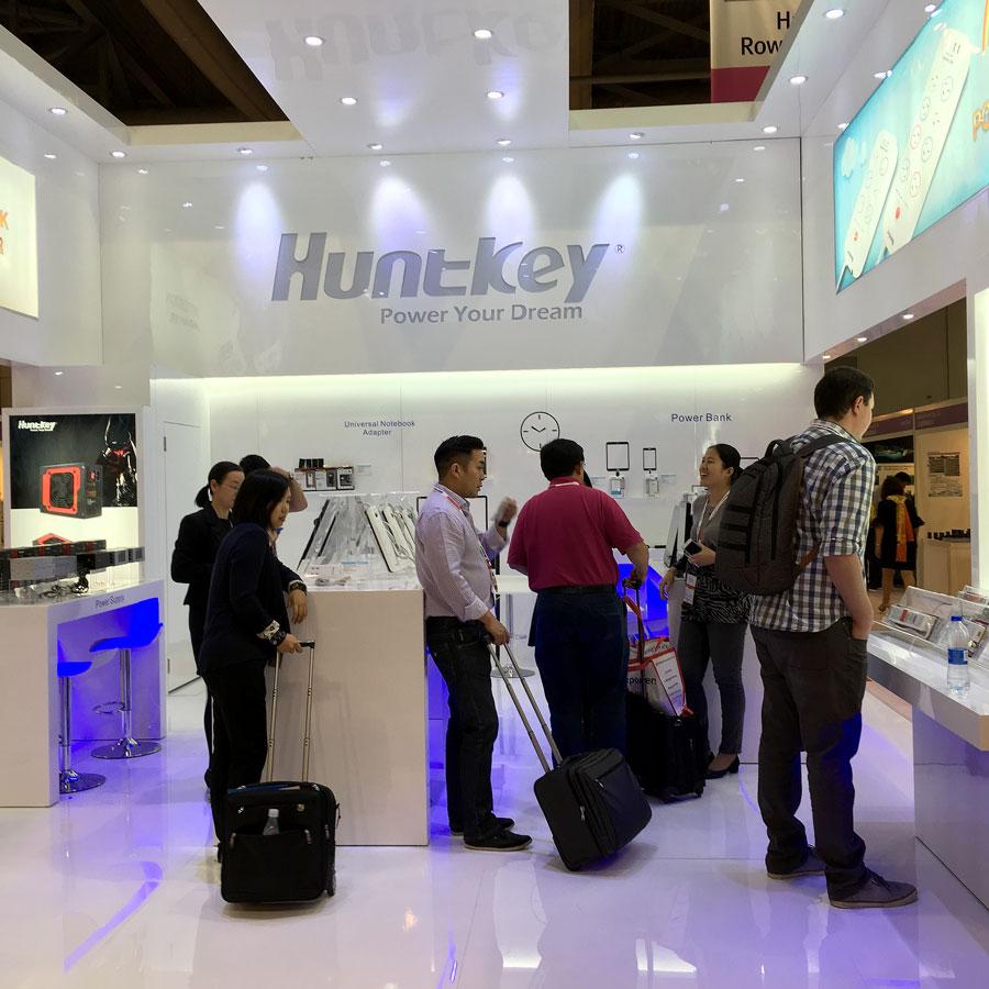 Huntkey Global Source Consumer Electronics Show PR (2)