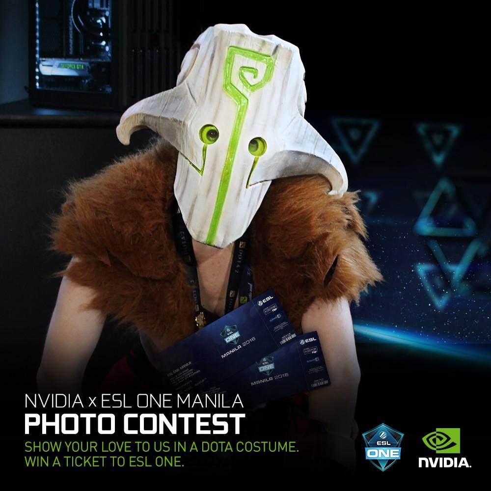 Nvidia ESL One Manila Ticket (1)