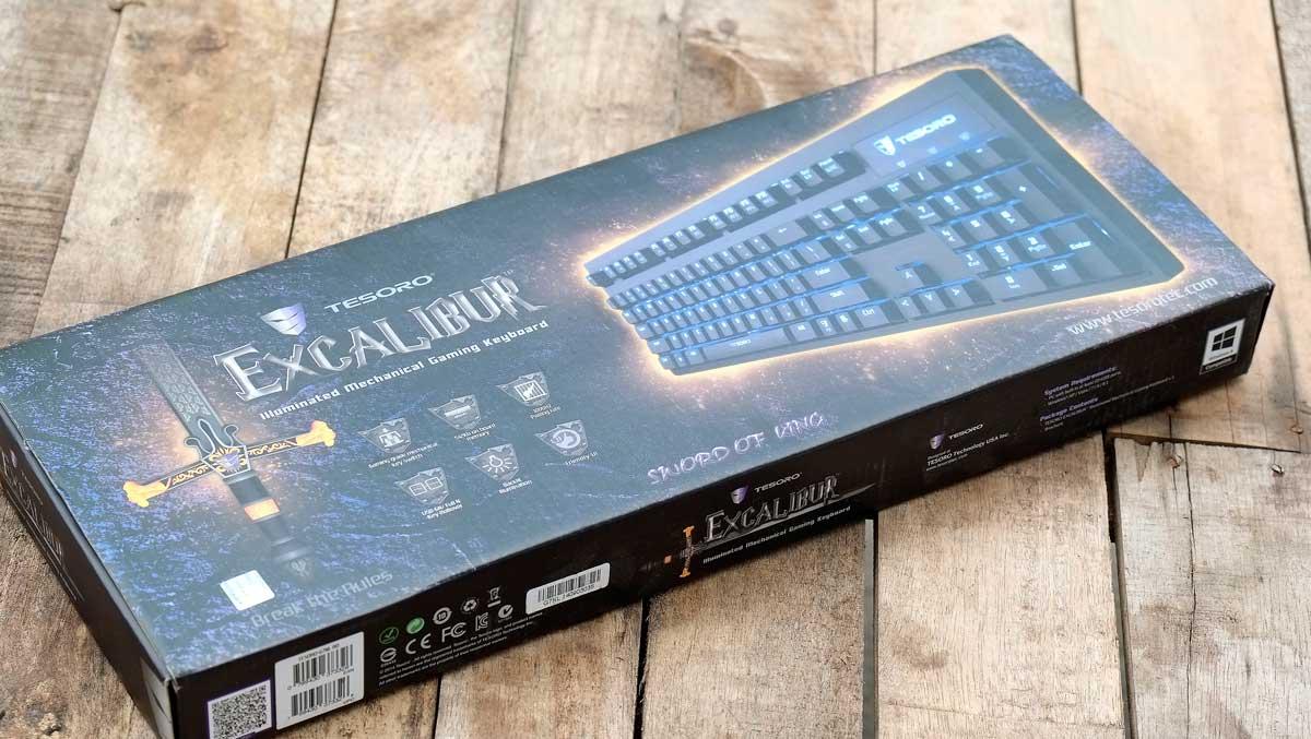 Tesoro Excalibur Mechanical Keyboard (1)