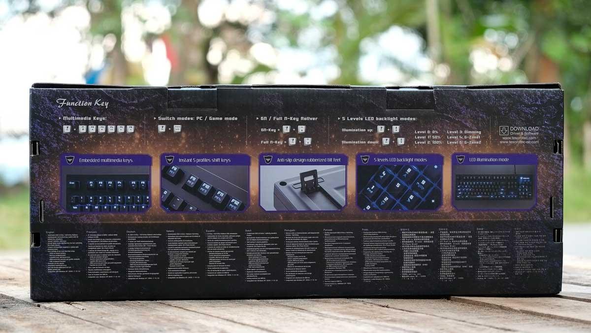 Tesoro Excalibur Mechanical Keyboard (2)