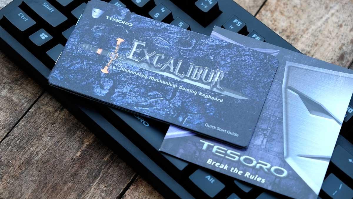 Tesoro Excalibur Mechanical Keyboard (4)