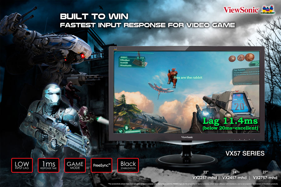 ViewSonic VX FreeSync Display PR (1)