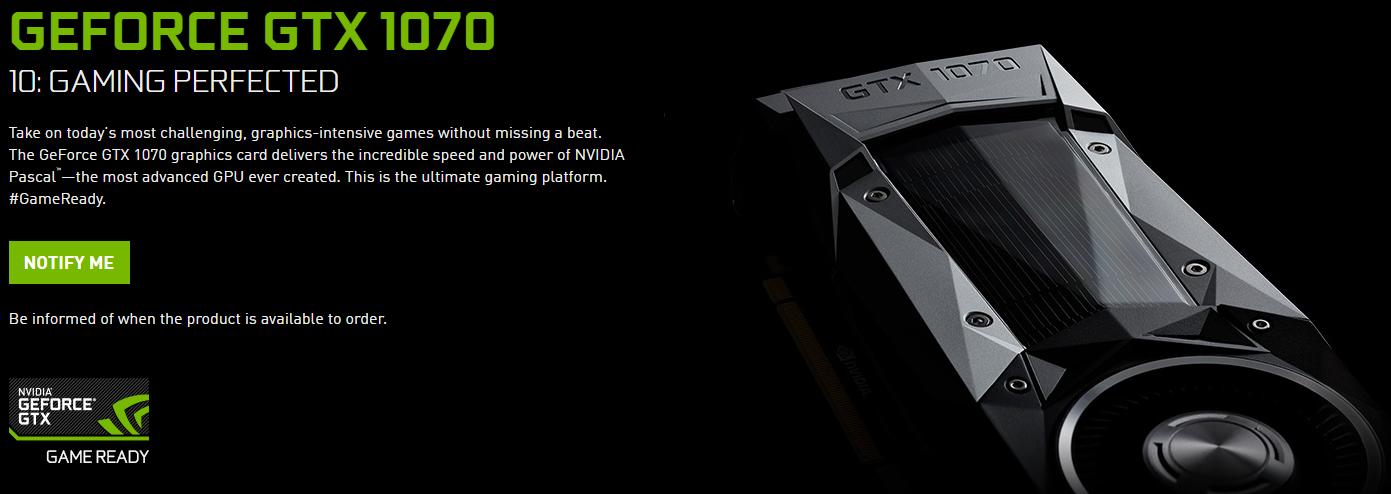 Nvidia GTX 1070 Spec Price (1)