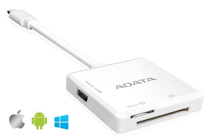 ADATA AI910 Lightning Card Reader PR