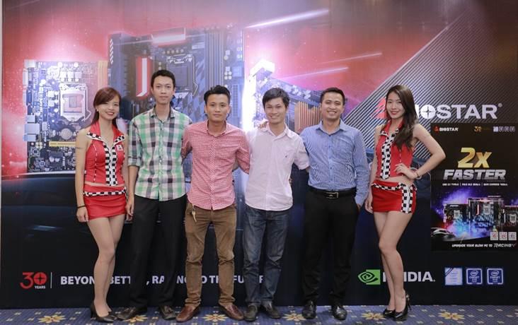 Biostar Racing 2016 PR Vietnam (2)