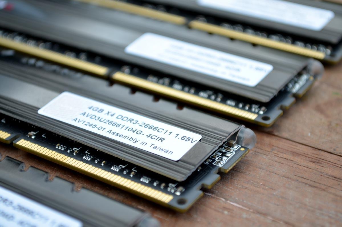 AVEXIR Core Series DDR3 (4)