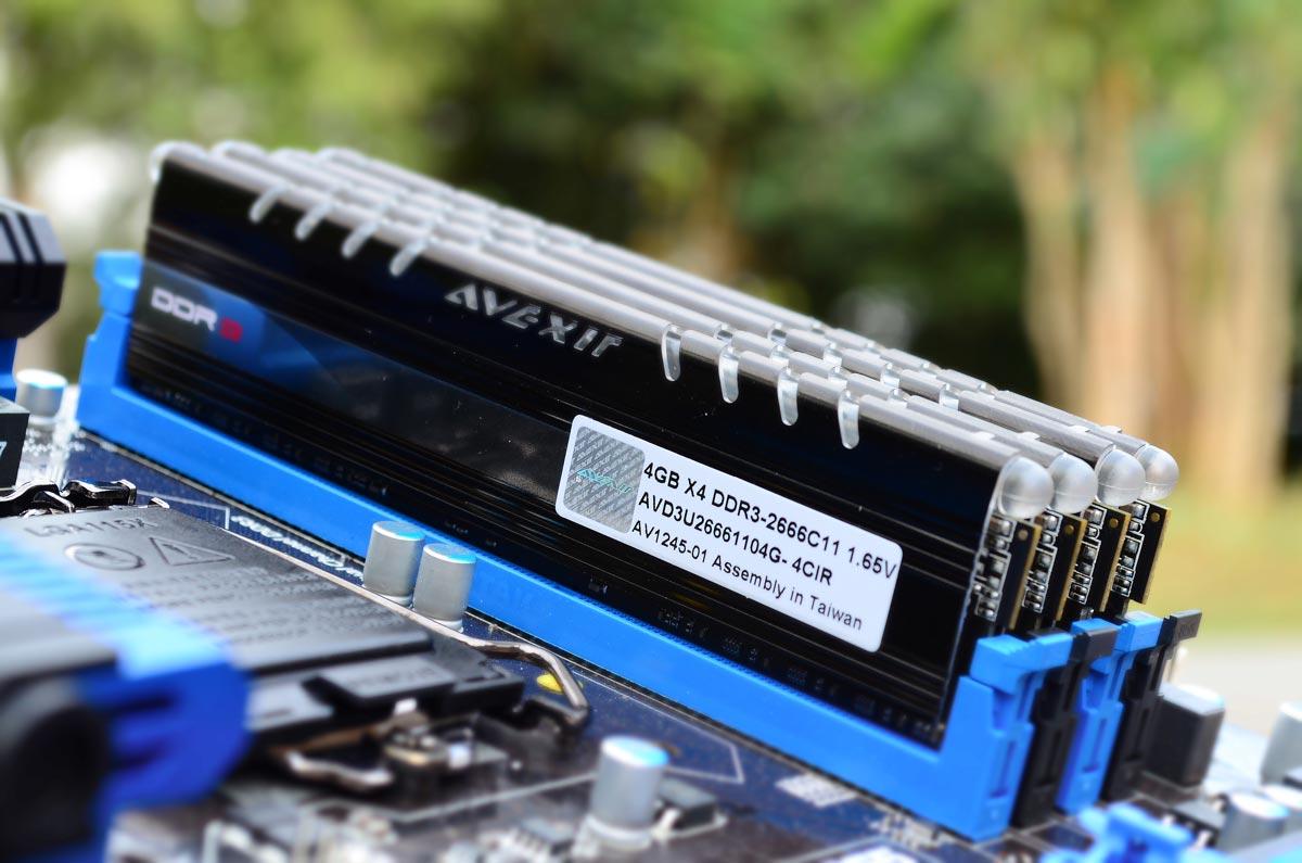 AVEXIR Core Series DDR3 (6)