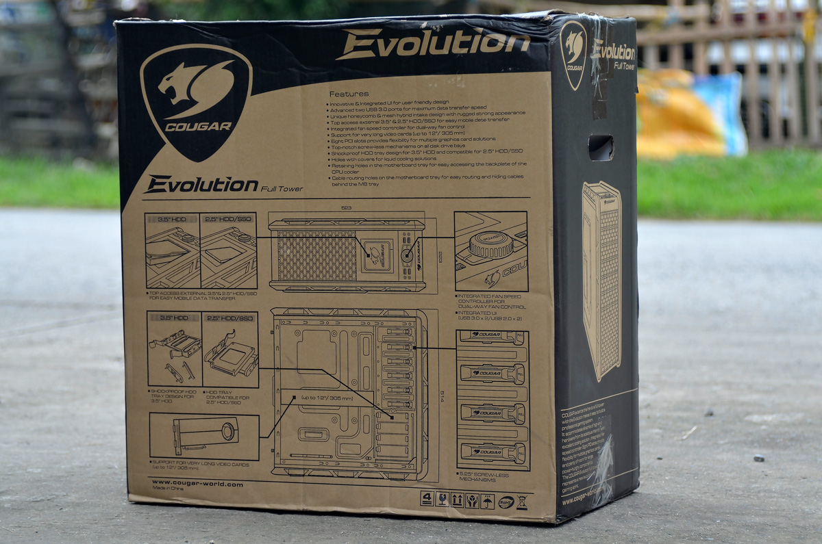 COUGAR Evolution Full Tower Review (28)