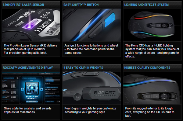 ROCCAT-Kone-XTD-Gaming-Mouse-Features