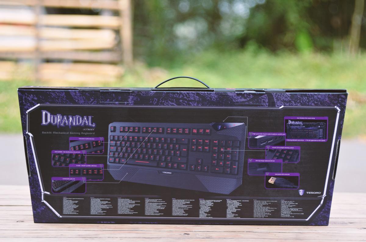Tesoro Durandal Ultimate Gaming Keyboard (2)