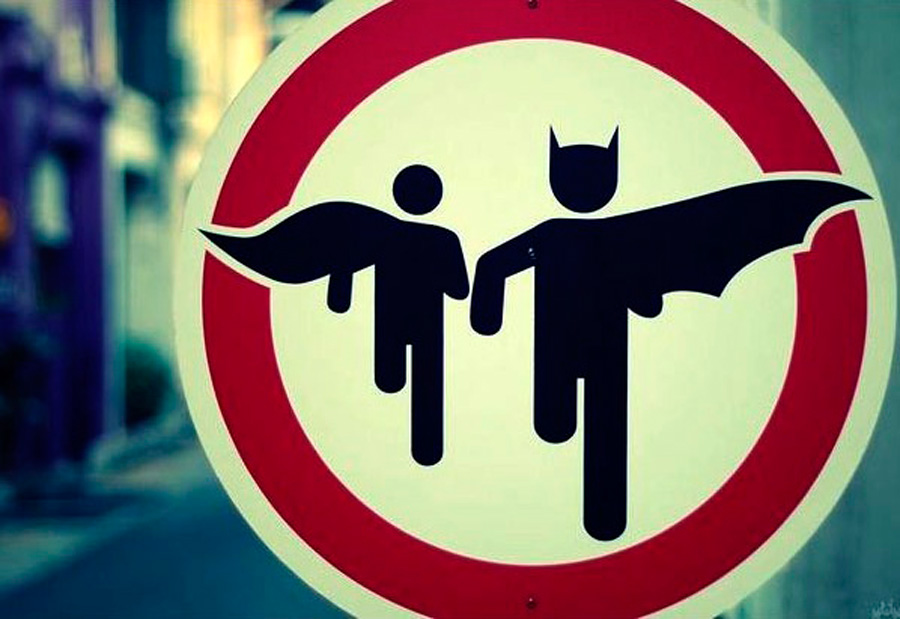 Traffic-Sign-Batman