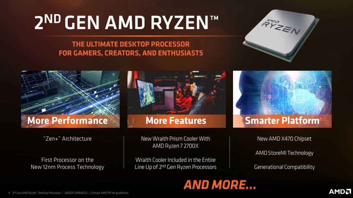 AMD Ryzen 2000 Initial News 3