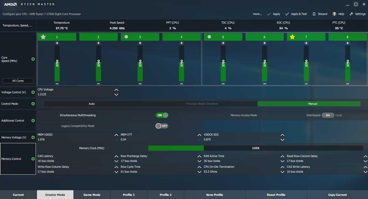 AMD Ryzen 2700X Review 2