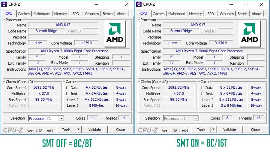 AMD Ryzen 7 1800X Review 7