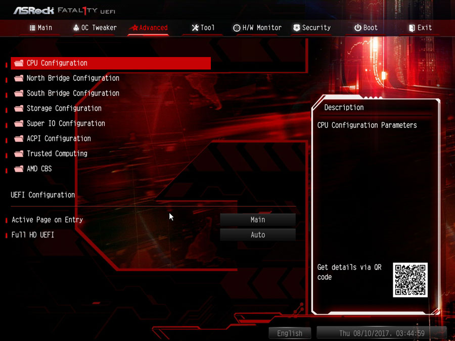 ASRock X370 Gaming K4 UEFI 2