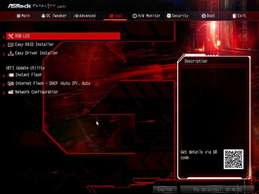 ASRock X370 Gaming K4 UEFI 3
