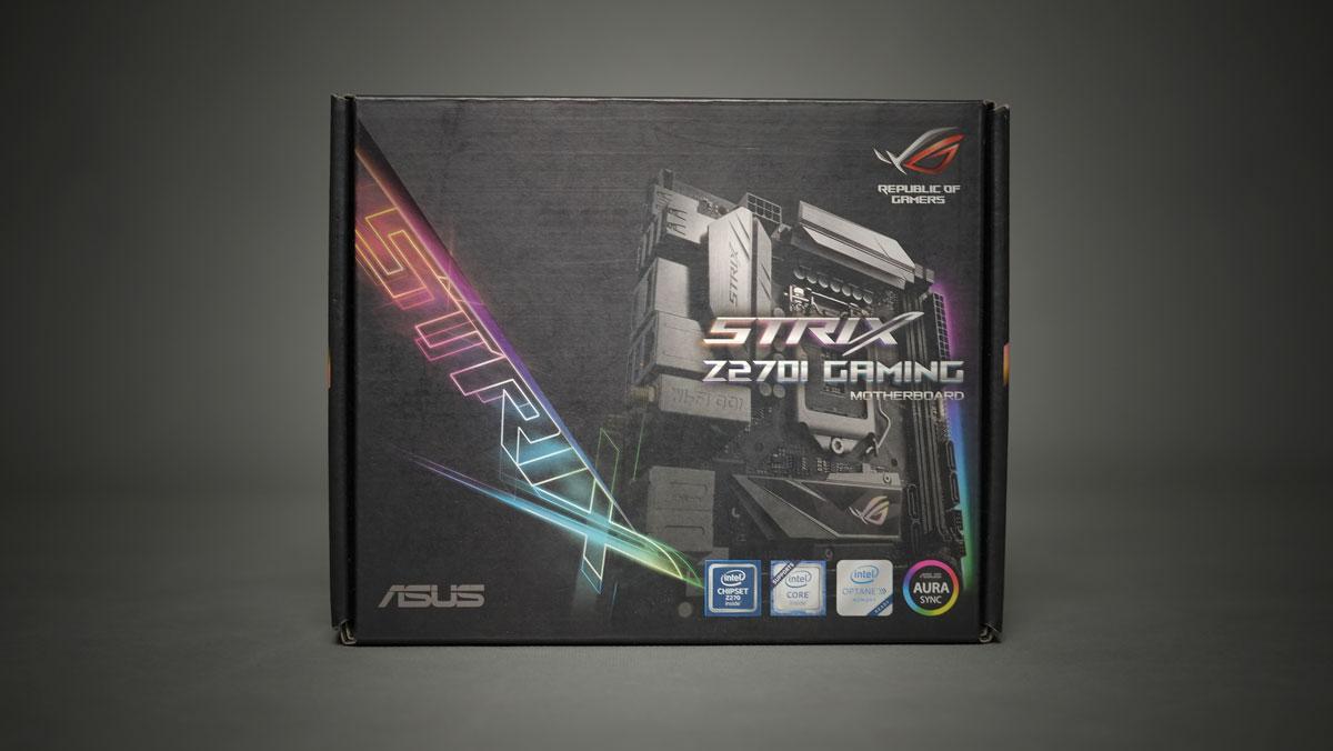 ASUS ROG Strix Z270I Gaming ITX 1