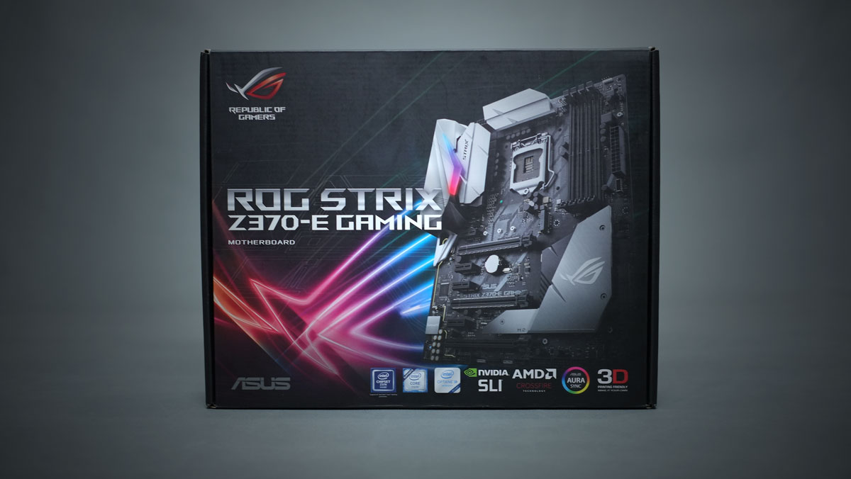 ASUS ROG Strix Z370 E Gaming 10