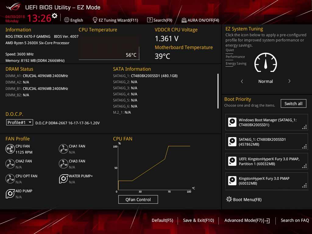 ASUS X470 F Gaming BIOS 7