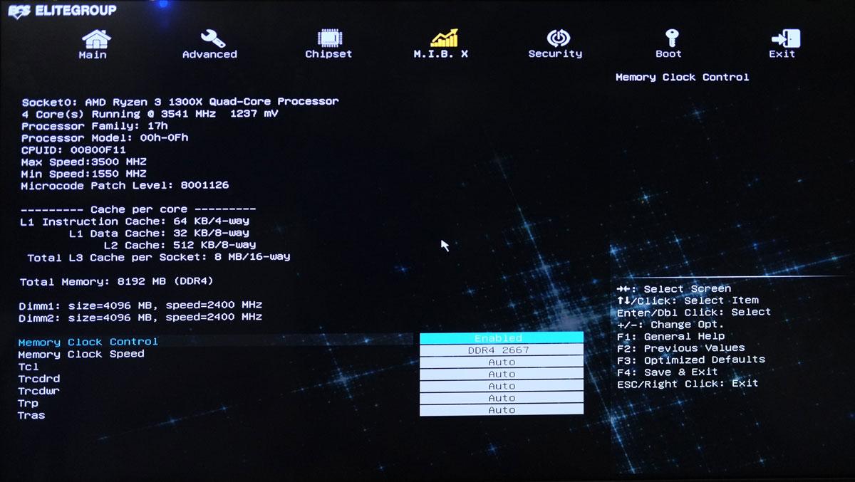 ECS A320AM4 BIOS 2