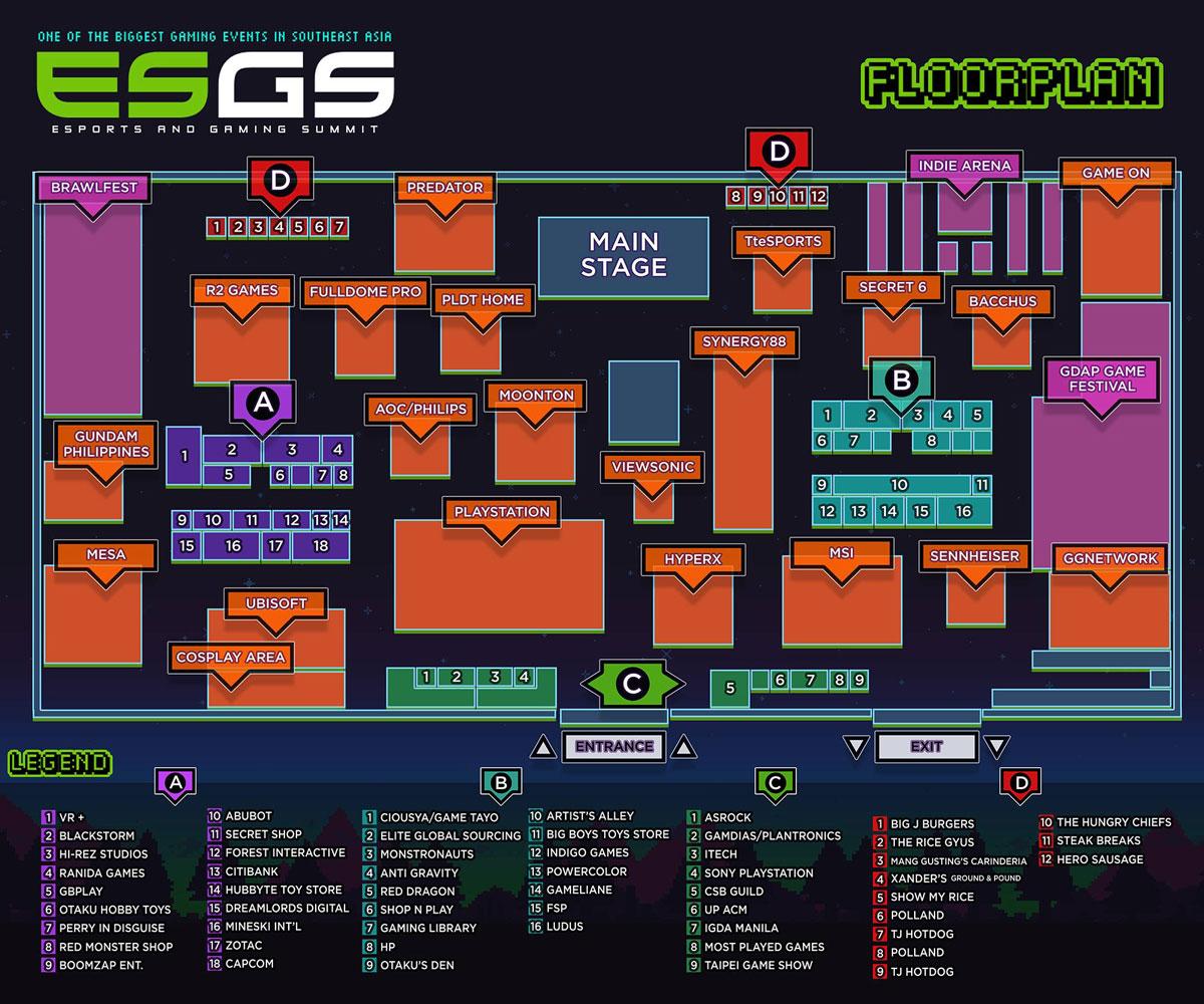 ESGS 2017 Floor Plan