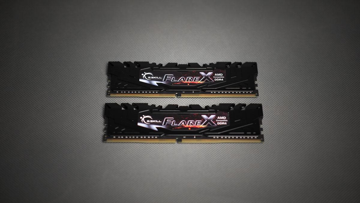 G.SKILL Flare X 3200MHz DDR4 Kit 3