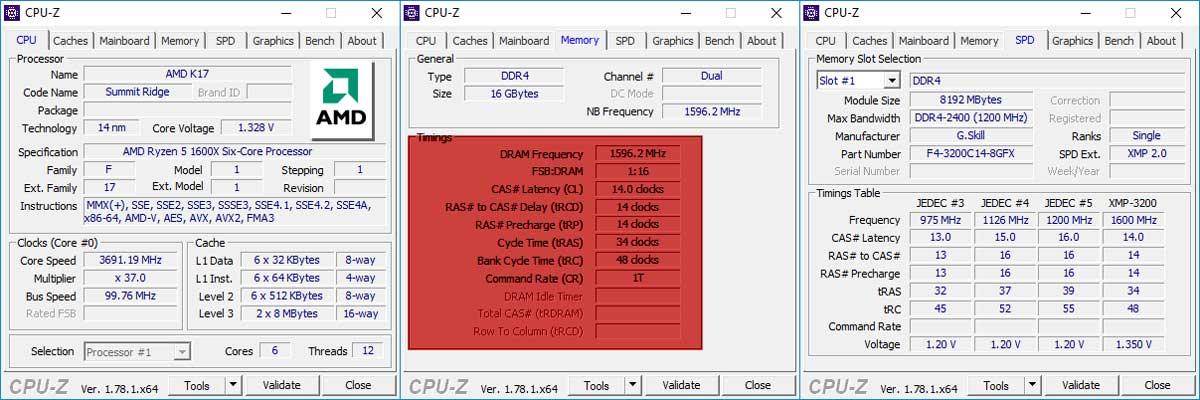 G.SKILL Flare X 3200MHz DDR4 Kit 6