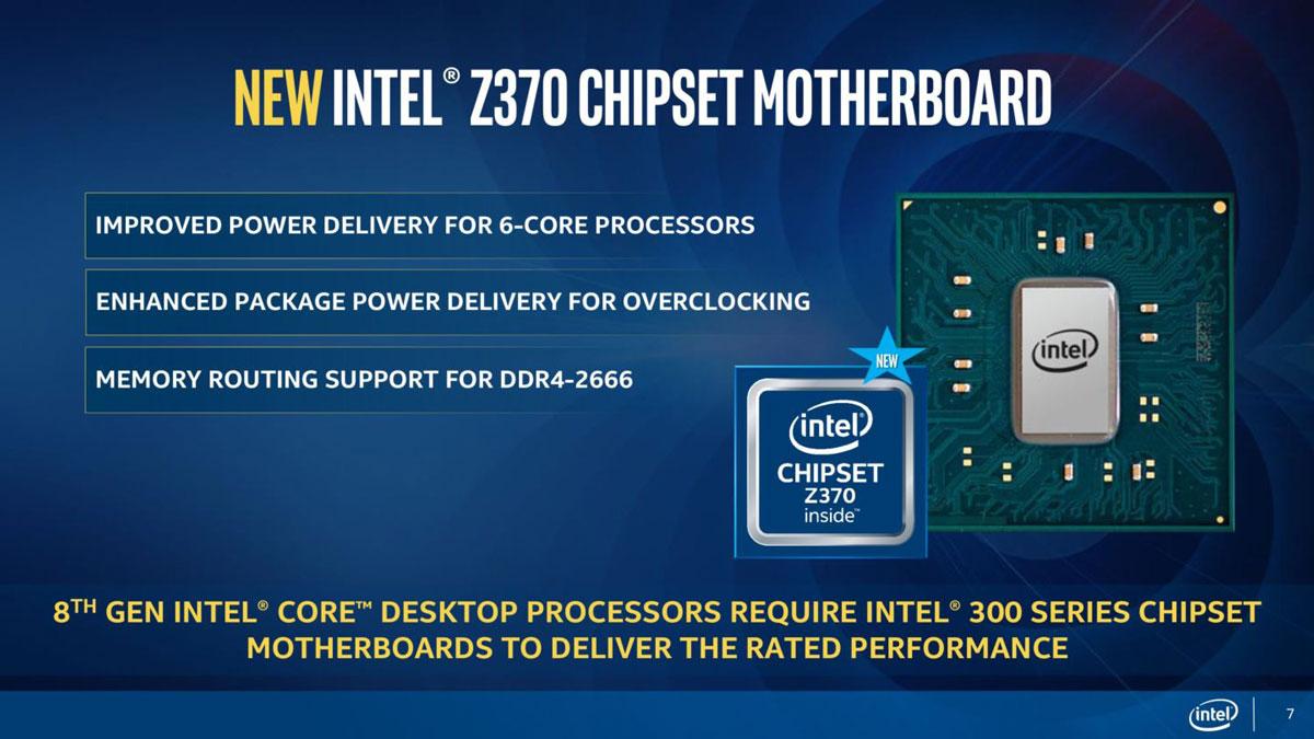 Intel Coffee Lake Slides 7