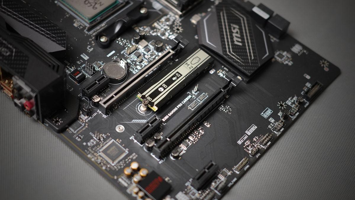 MSI B350 Pro Gaming Carbon Review 9
