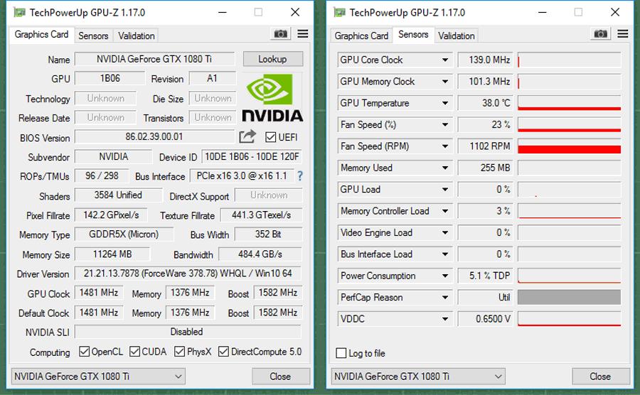 Nvidia GTX 1080 Ti Benchmarks 26