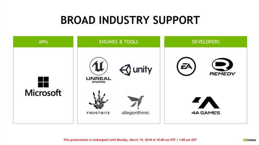 Nvidia RTX Tech Ray Tracing PR 4