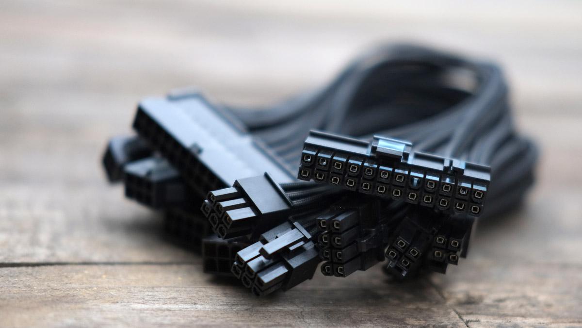 PCHub PSU Cable Sleeve Kit 4
