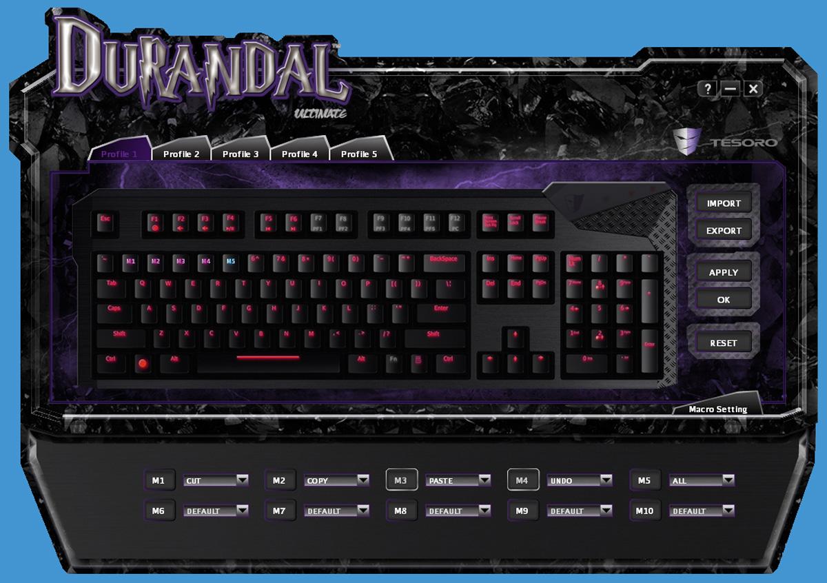 Tesoro-Durandal-Software-3