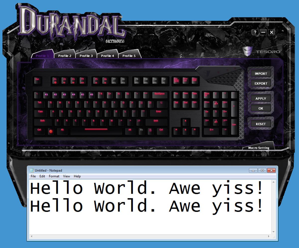 Tesoro-Durandal-Software-5
